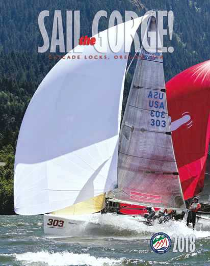 Sail the Gorge Magazine 2018 Cover Image