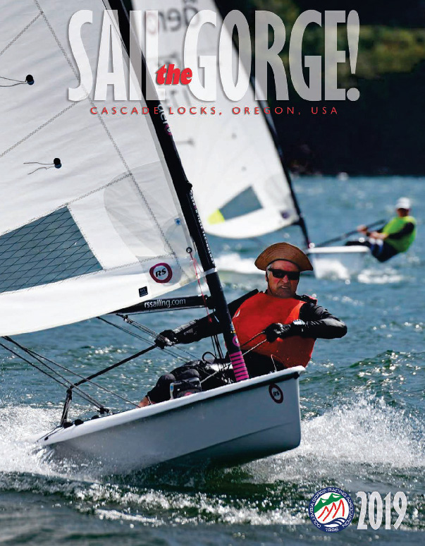 Sail the Gorge Magazine 2019 Cover Image